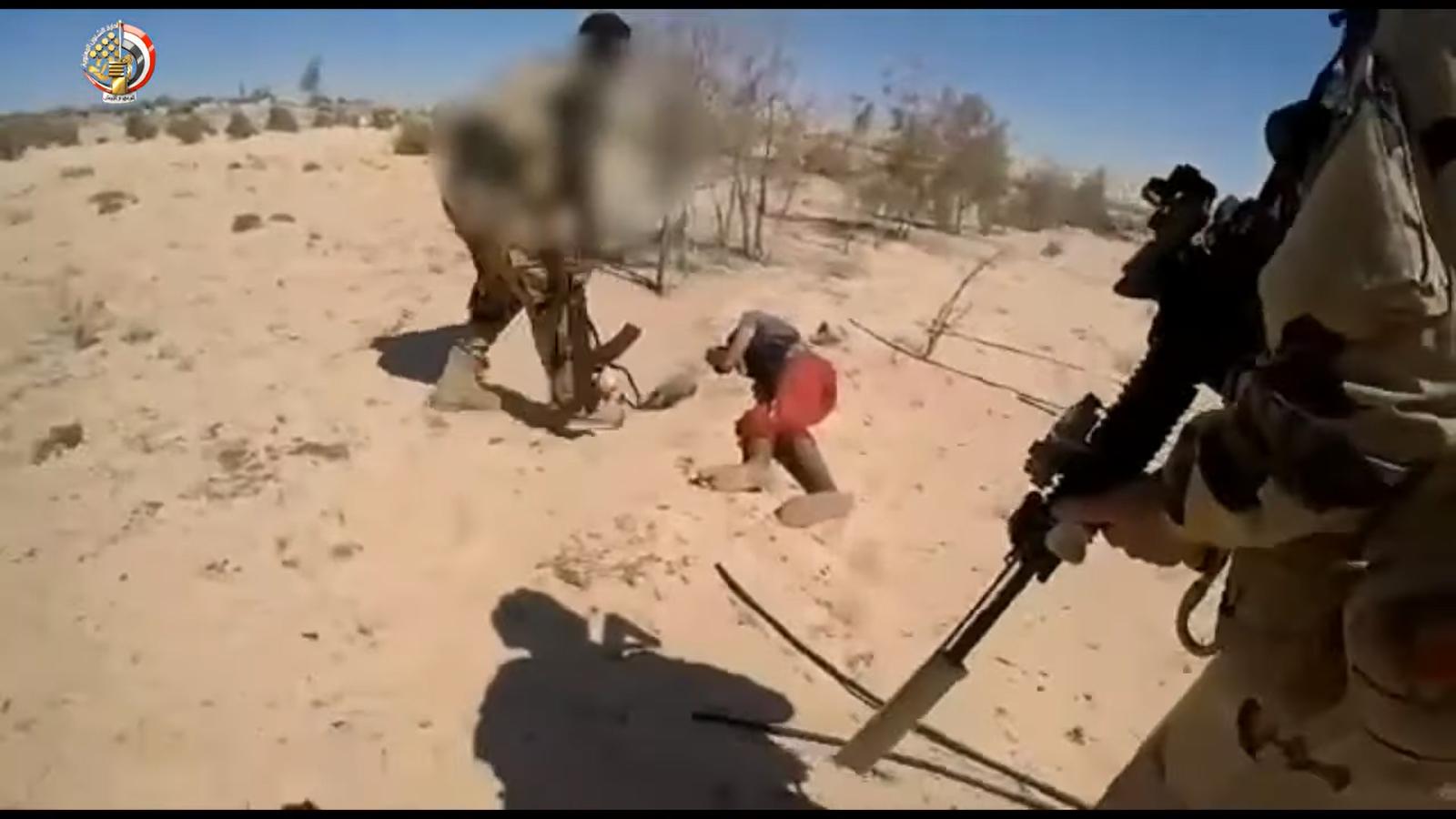 القوات المسلحة تعلن مقتل 89 تكفيريا بشمال سيناء  (1)