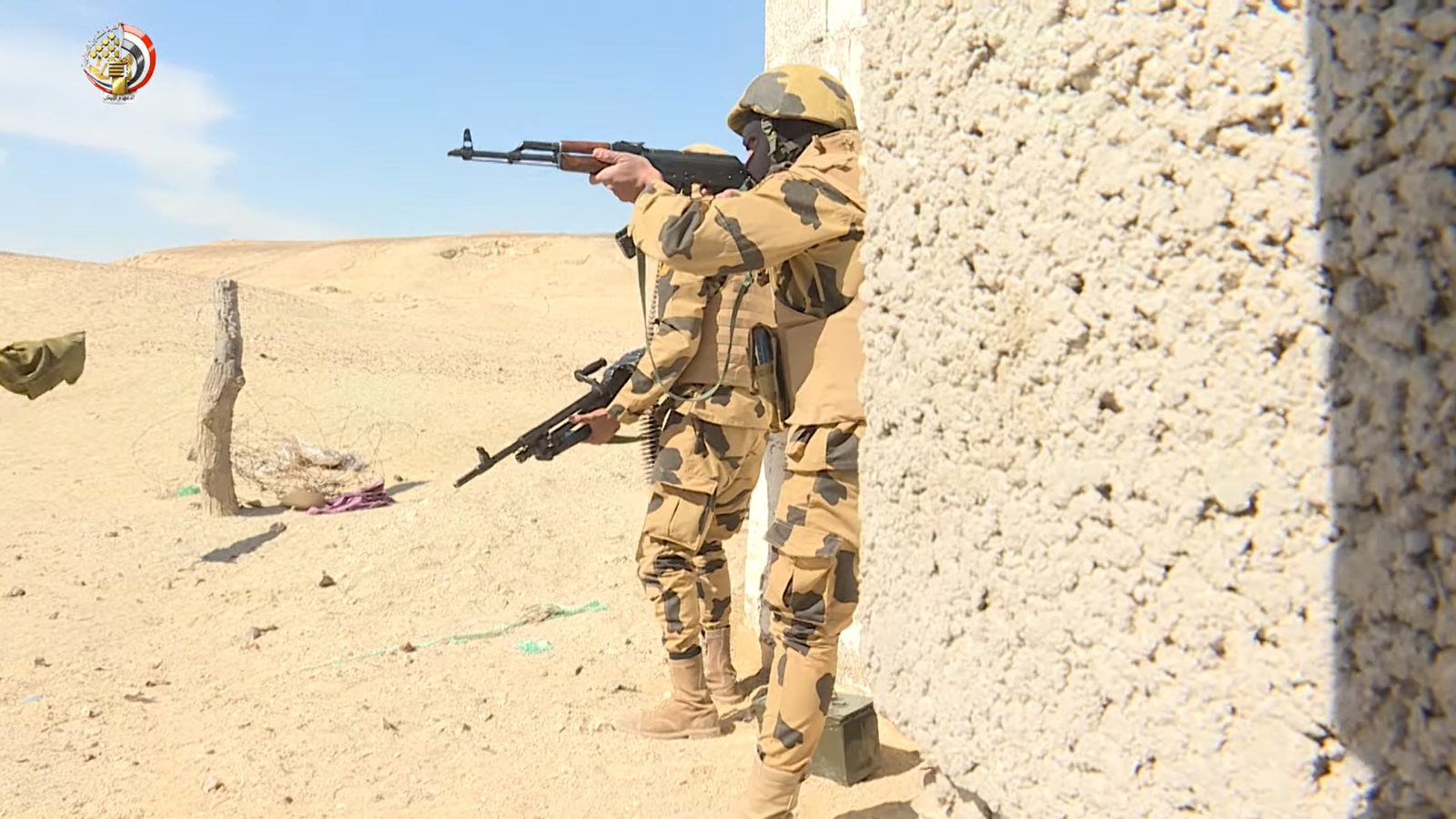 القوات المسلحة تعلن مقتل 89 تكفيريا بشمال سيناء  (3)
