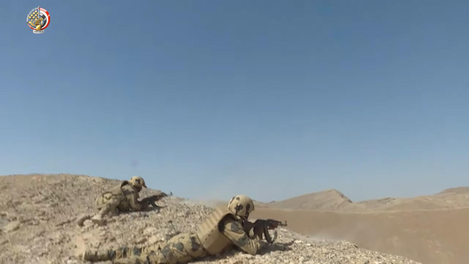 القوات المسلحة تعلن مقتل 89 تكفيريا بشمال سيناء  (2)
