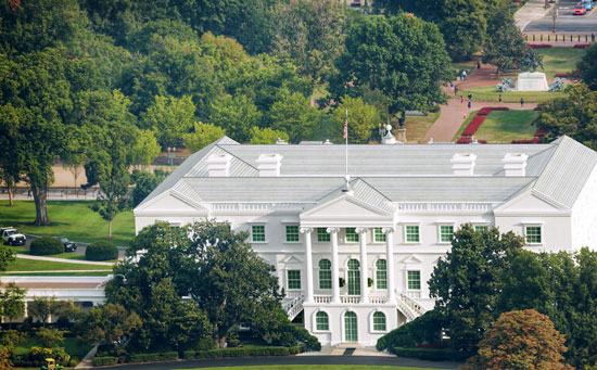 Different designs and ideas for the White House