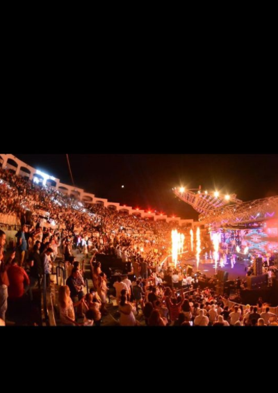 حفل تامر حسني (5)