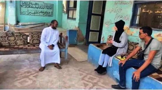 جانب من إشهار إسلام فتاة إنجليزية