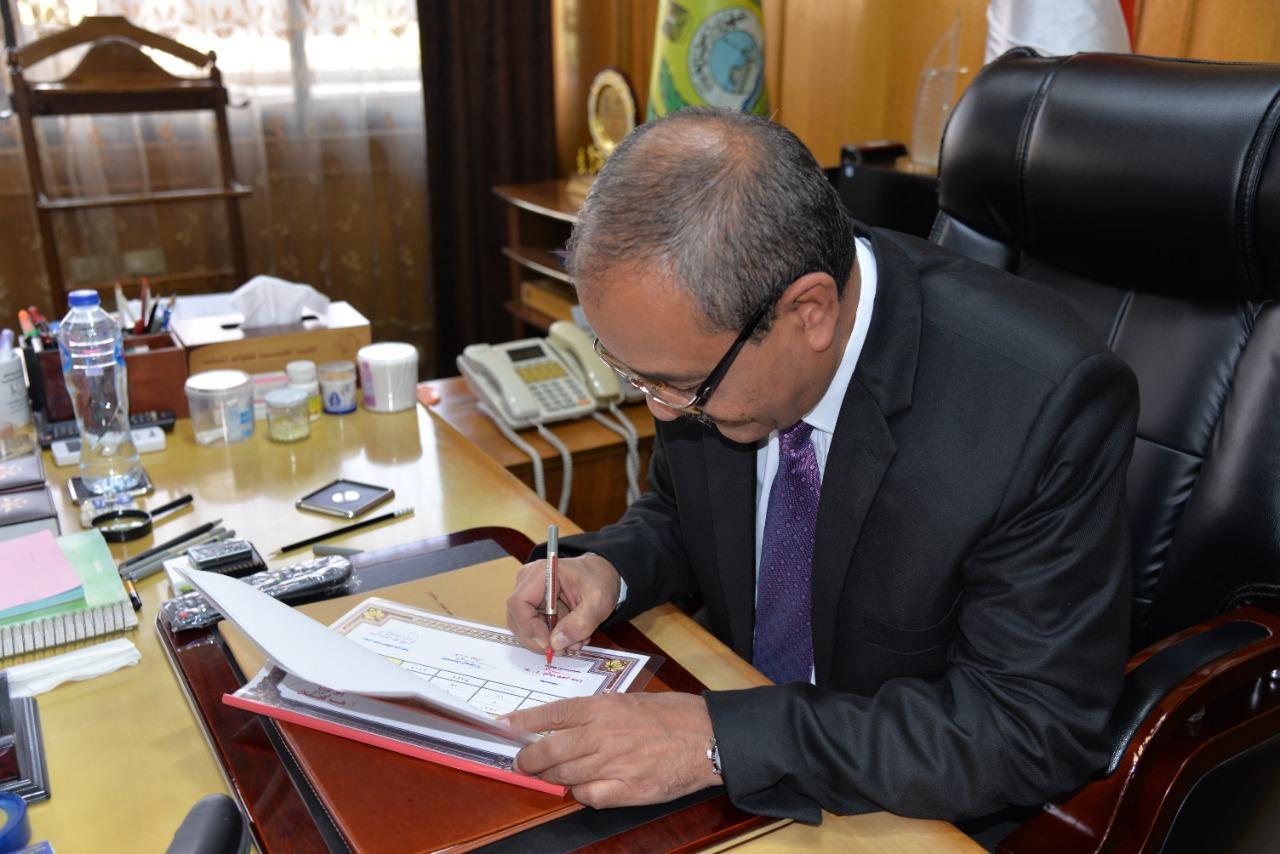 محافظ الإسماعيلية يوافق على نتائج الجولة الثانية لشهادة الإعداد (2)
