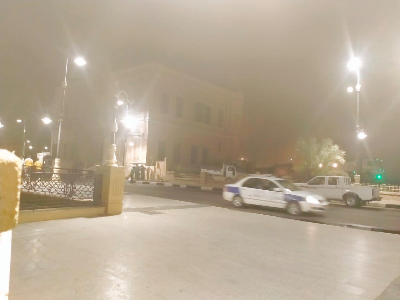 عمليات إزالة وهدم قصر أندوراس بكورنيش النيل