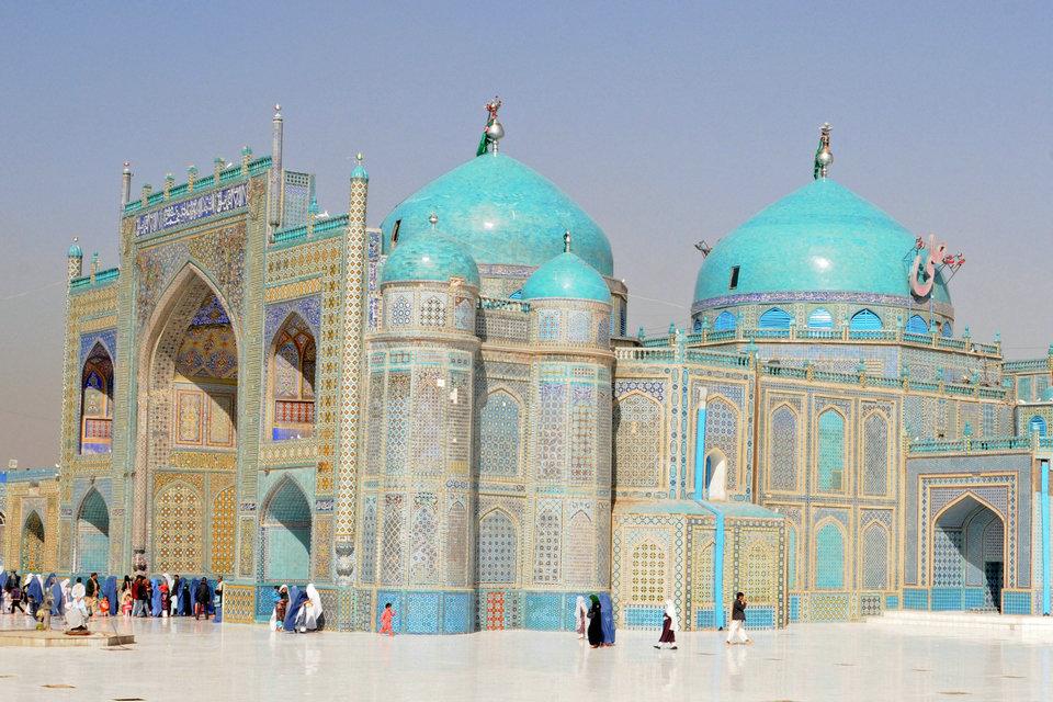 المساجد فى أفغانستان