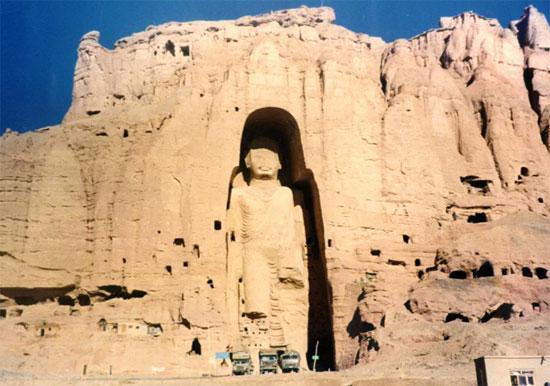 تماثيل بوذا باميان ، أفغانستان