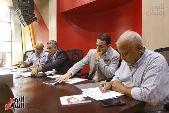 اجتماع الأندية في اتحاد الكره (11)