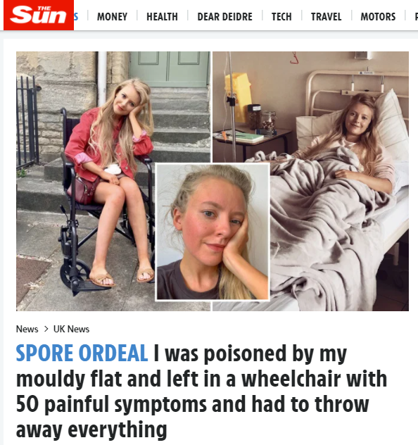 The article is from The Sun newspaper