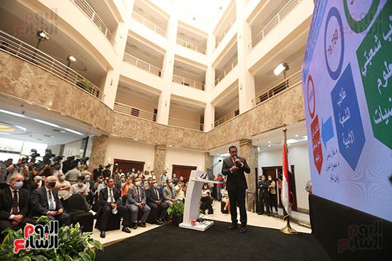مؤتمر إعلان نتائج المرحلة الأولى لتنسيق الجامعات (7)