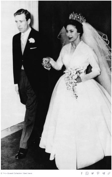 Princess Margaret dress