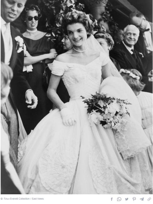 Jacqueline Kennedy dress