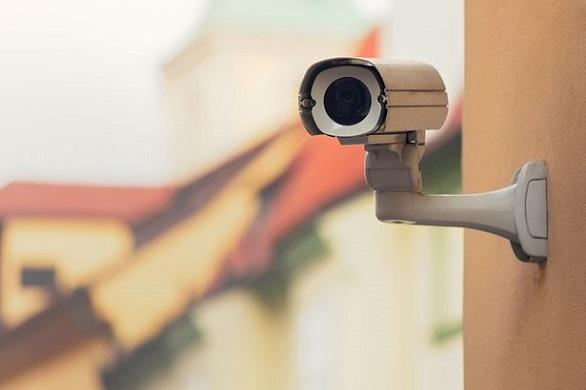 Surveillance camera installed