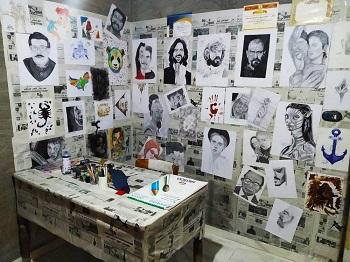 Ibrahim's studio