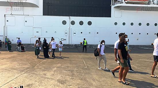 الوفد-السياحى-السعودى-بعد-نزوة-من-السفينة-بليسما