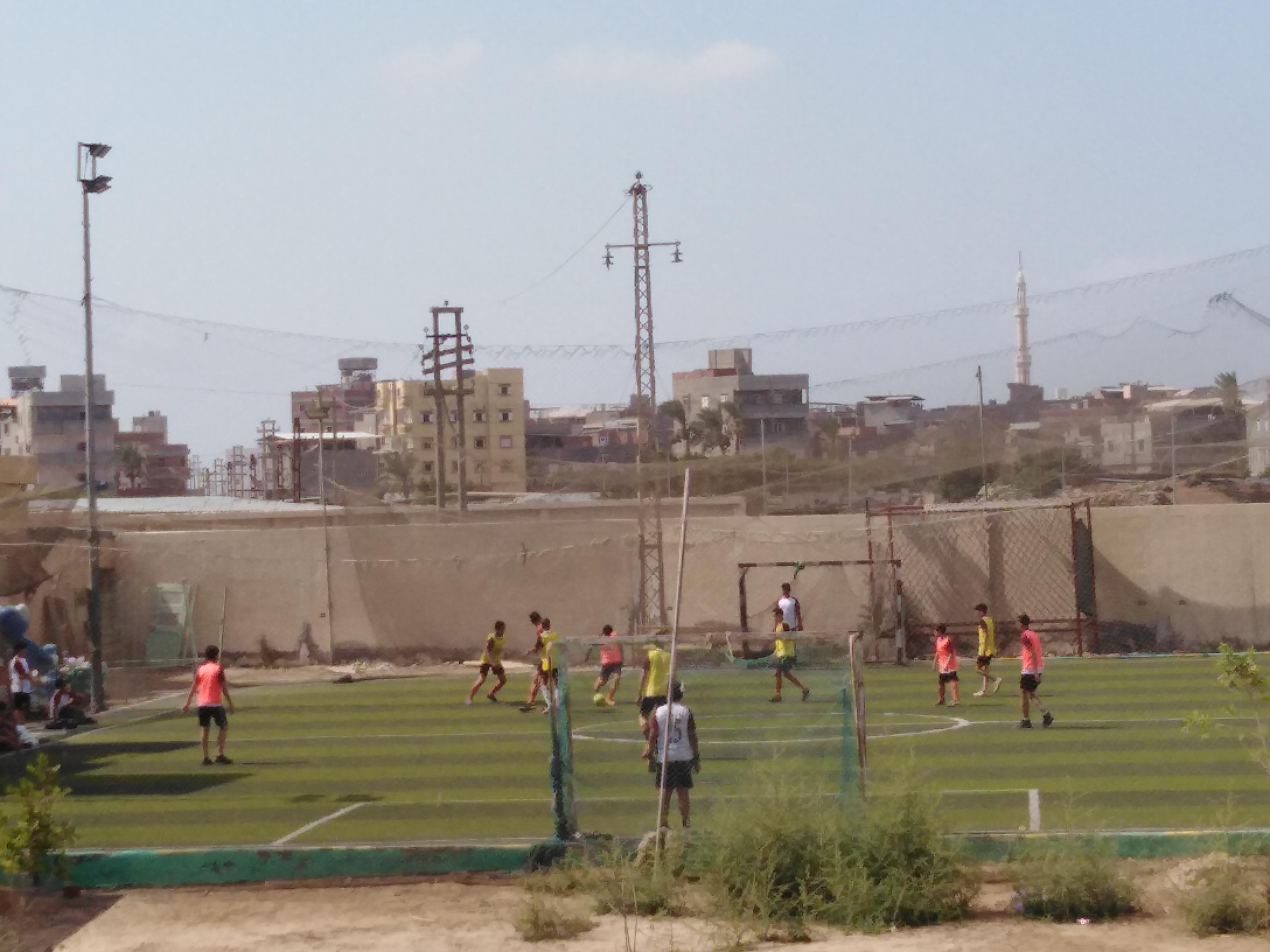 لعب كرة القدم بمراكز الشباب بدمياط (1)