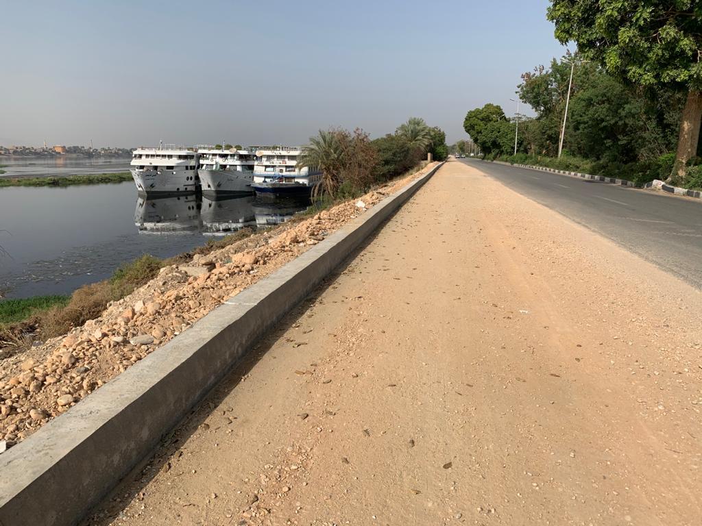 توسعة المسار السياحى اما المراسى النيلية