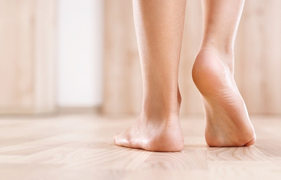 Natural ways to get rid of smelly feet