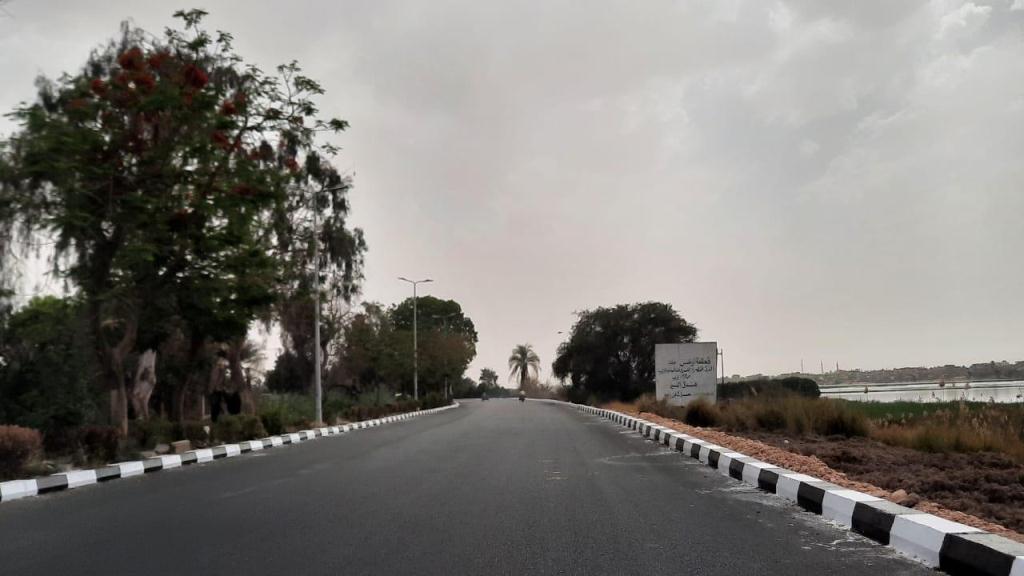 مشروع توسعة طريق المسار السياحى