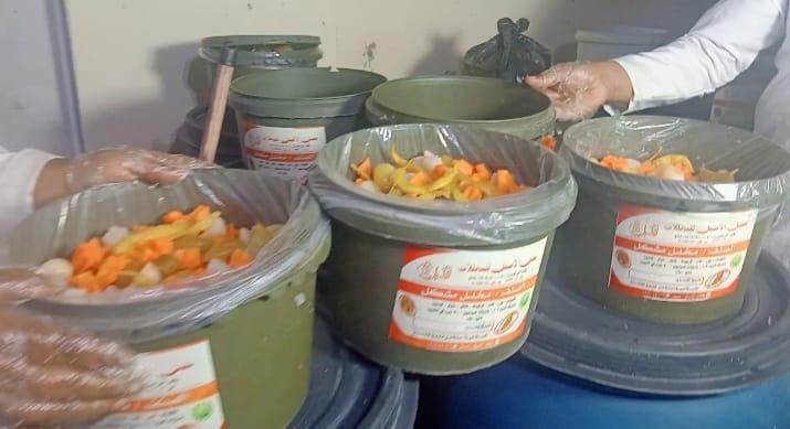 عبوات بلاستيكية لتعبئة المخللات