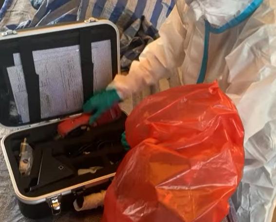 جهاز للاكتشاف الاصابة بكورونا