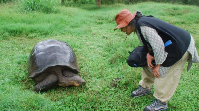 Visiting nature in Ecuador