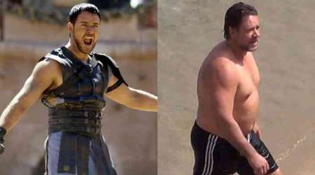 Russell Crowe overweight