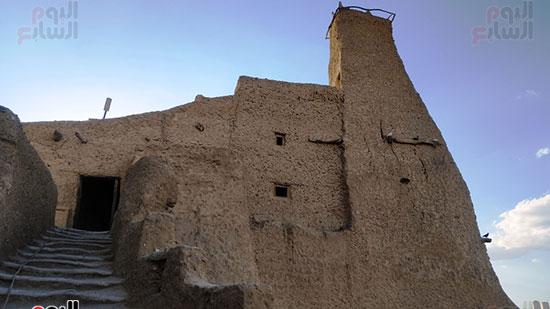 المسجد العتيق في قلعة شالي