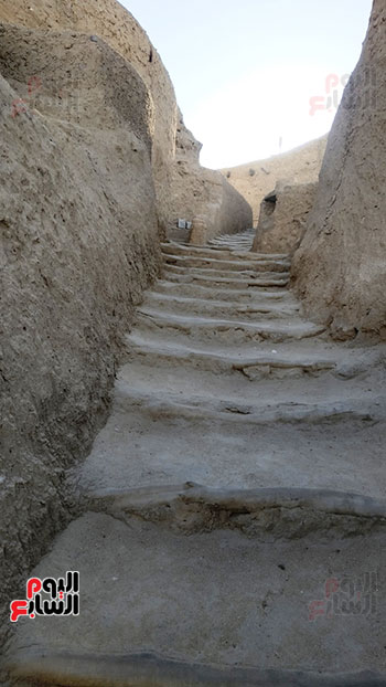 مدخل قلعة شالي الأثرية