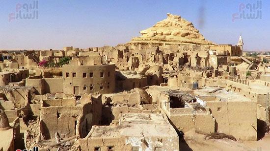 احياء قلعة شالي في سيوة بعد ترميمها