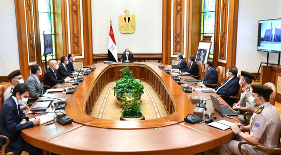 اجتماع الرئيس عبد الفتاح السيسي