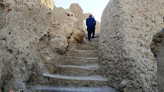 مدخل حصن شالي في سيوة