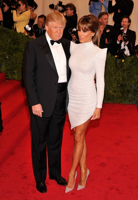 Trump and his wife's last appearance at the Met Gala