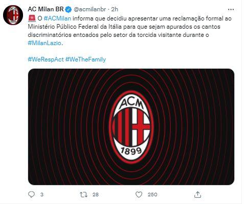 Milan statement