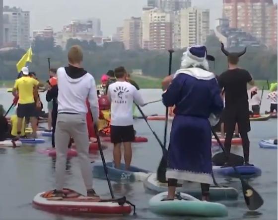 مهرجان القوارب فى روسيا