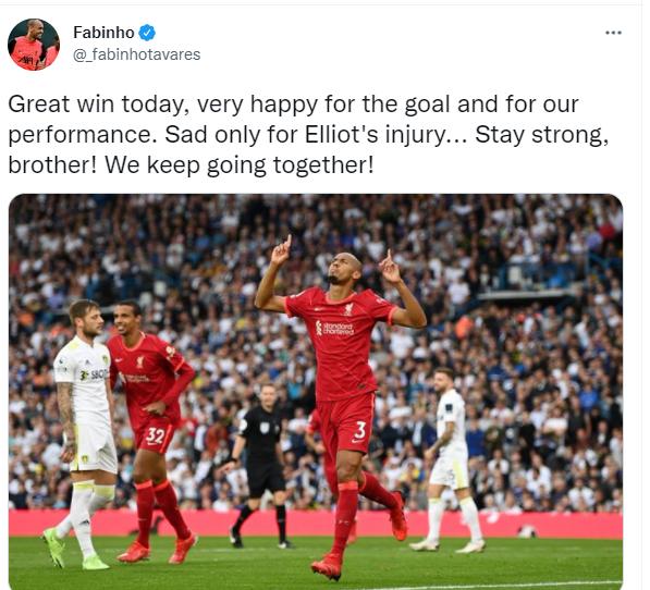 Fabinho on Twitter