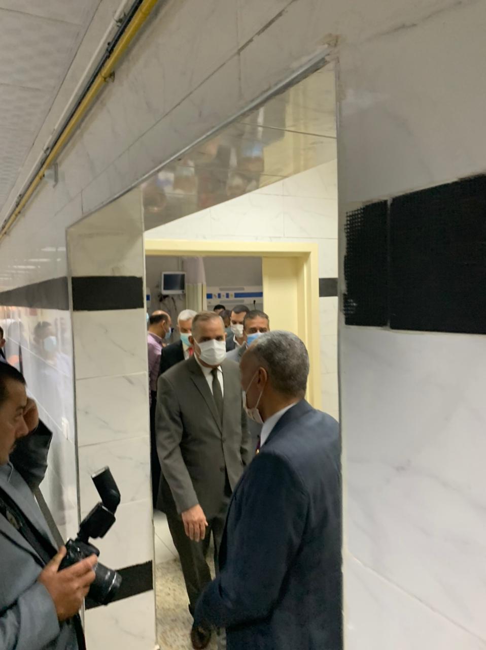 محافظ كفر الشيخ يزور مصابى فريق كرة السرعة