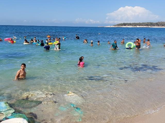 الإقبال على شاطئ الإسكندرية