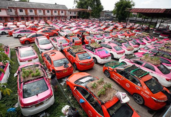 تايلاند تستغل السيارات المهجورة