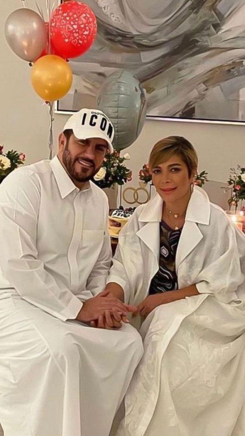 Asala and her husband, Faeq Hassan