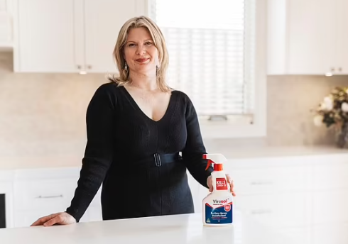 The mother who developed the disinfectant