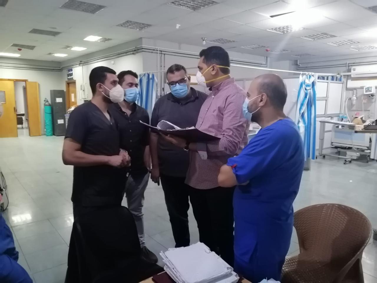 زيارة الدكتور عمرو عبد العاطى رئيس مركز ومدينة بلقاس