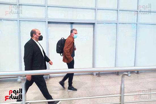 البرتغالى كيروش يصل القاهرة لبدء مهمته مع منتخب مصر    (1)
