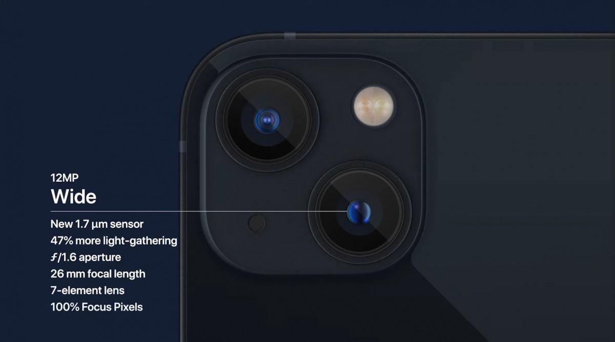 كاميرا ايفون 13