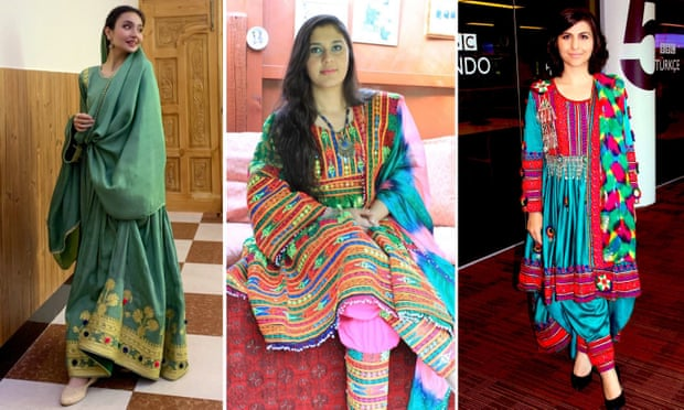 ملابس تقليدية أفغانية