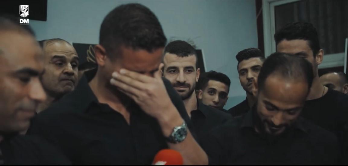 سعد سمير يبكى فى وداع الاهلى (3)