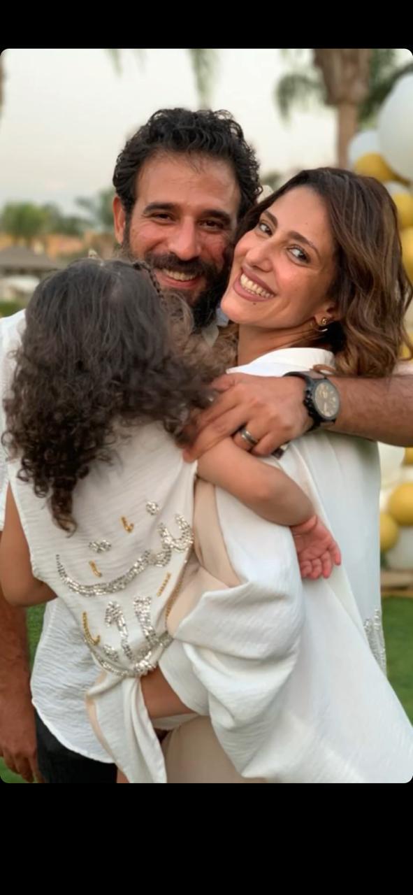 حنان مطاوع تحتفل بعيد ميلاد ابنتها  (6)