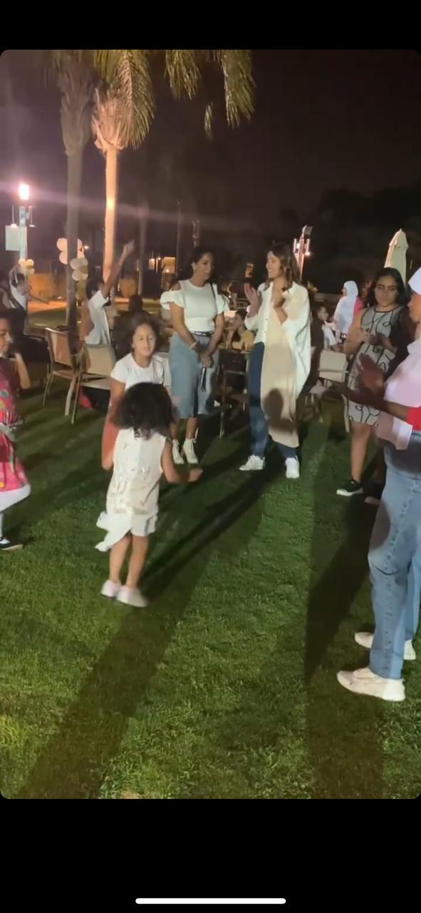 حنان مطاوع تحتفل بعيد ميلاد ابنتها  (1)