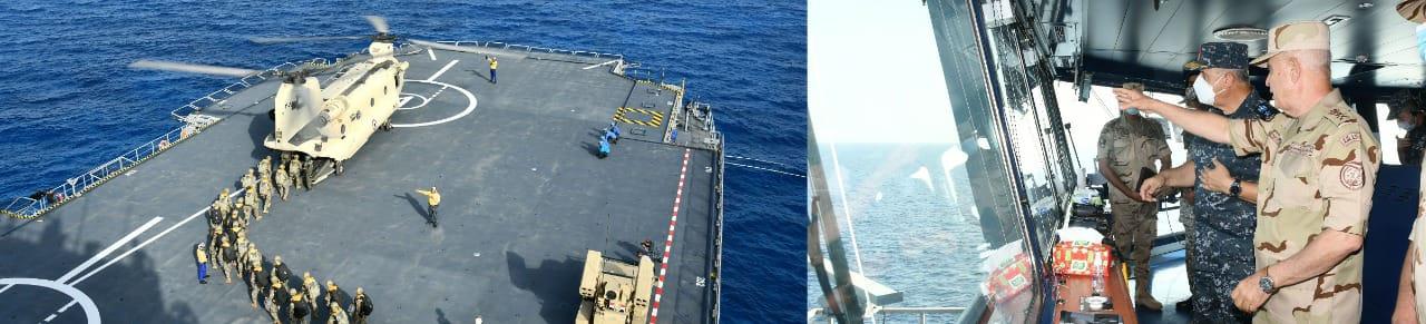 أنشطة تدريبية بحرية بالتدريب المشترك النجم الساطع 2021 (3)