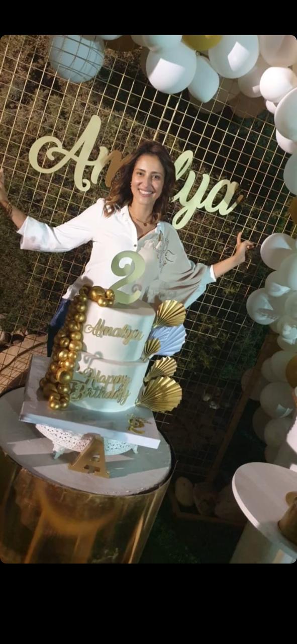 حنان مطاوع تحتفل بعيد ميلاد ابنتها  (3)
