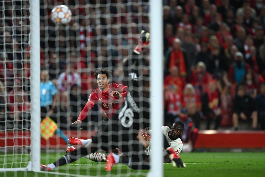 هدف ليفربول الاول